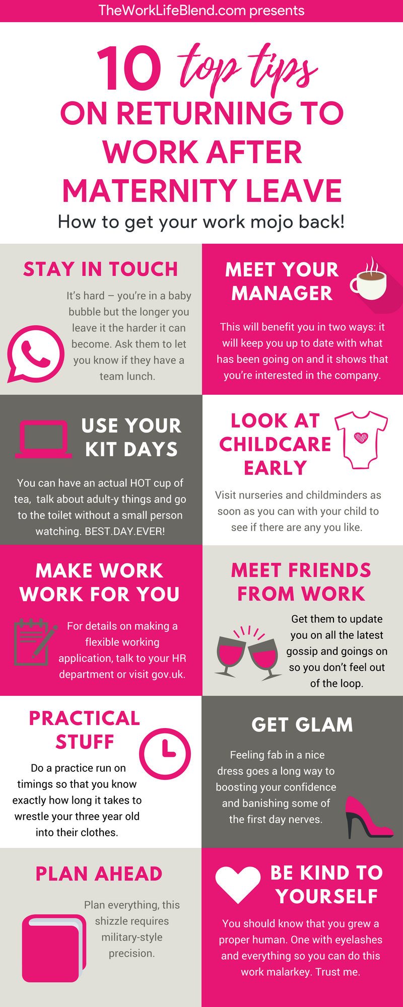 How to go to work after maternity leave